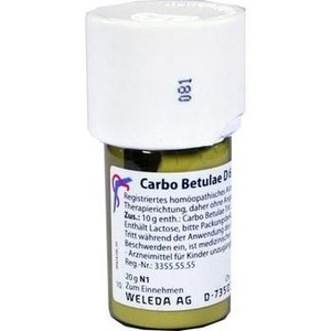 CARBO BETULAE D 6 Trituration