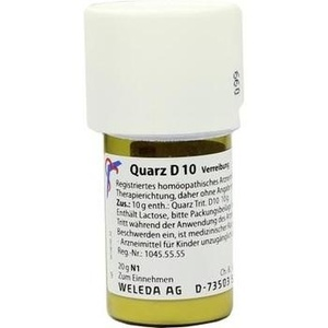 QUARZ D 10 Trituration