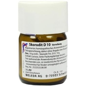 SKORODIT D 10 Trituration