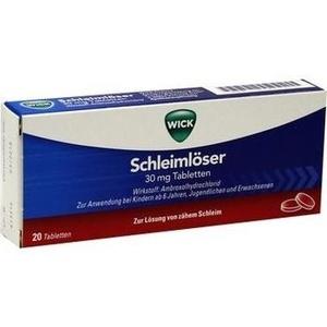 WICK Schleimlöser 30 mg Tabletten