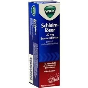 WICK Schleimlöser 30 mg Brausetabletten