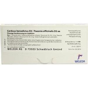 CARDUUS BENEDICTUS D 2/PAEONIA offic.D 2 aa Amp.