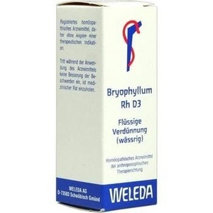 BRYOPHYLLUM RH D 3 Dilution