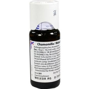 CHAMOMILLA/MALACHIT comp.Dilution
