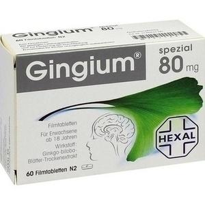 Gingium® spezial 80 Filmtabletten