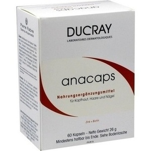 DUCRAY anacaps mit Aminosäuren Kapseln