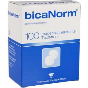 BICANORM magensaftresistente Tabletten