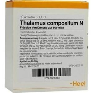 THALAMUS compositum N Ampullen