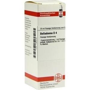BELLADONNA D 4 Dilution