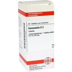 HAMAMELIS D 2 Tabletten