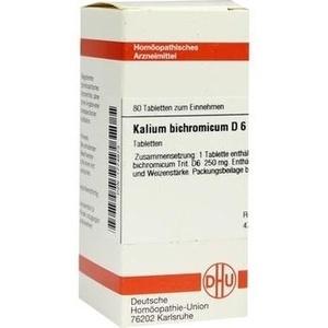 KALIUM BICHROMICUM D 6 Tabletten
