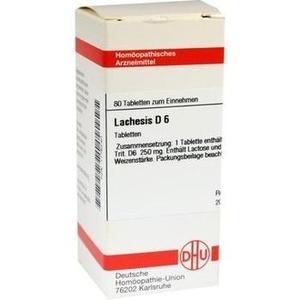 LACHESIS D 6 Tabletten