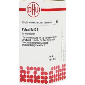 PULSATILLA D 6 Globuli