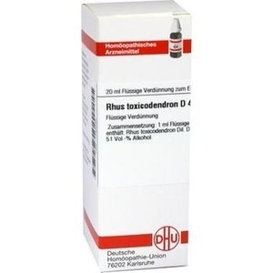 Rhus Toxicodendron D4 Dilution