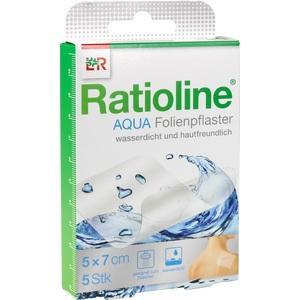 RATIOLINE aqua Duschpflaster 5x7 cm