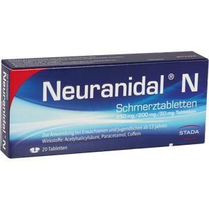 Abbildung von Neuranidal N  Tabletten