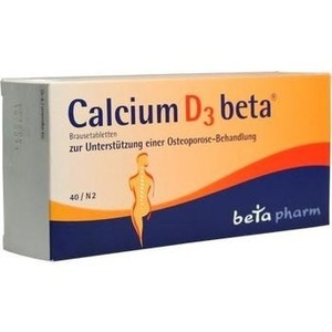 CALCIUM D3 beta Brausetabletten