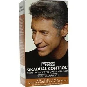 GRECIAN Gradual Control Gel f.helles Haar