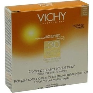 VICHY CAPITAL Soleil Make-up Puder gold