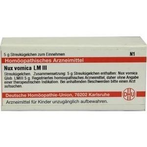 LM NUX vomica III Globuli