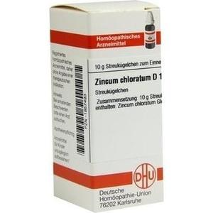 ZINCUM CHLORATUM D 12 Globuli