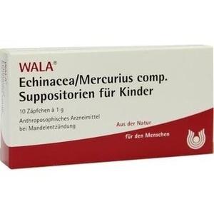 ECHINACEA/MERCURIUS comp.Kindersuppositorien