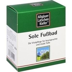 ALLGÄUER LATSCHENK. Sole Fußbad
