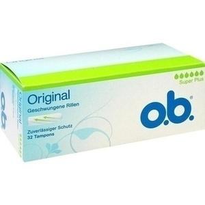 O.B. Tampons super plus