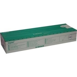 INJEKT Solo Spritze 2 ml Luer zentrisch PVC-fr.
