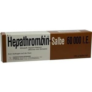 HEPATHROMBIN 60.000 Salbe
