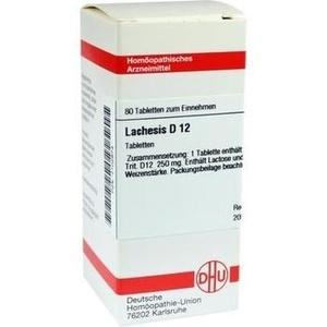 LACHESIS D 12 Tabletten