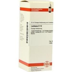 LACHESIS D 12 Dilution