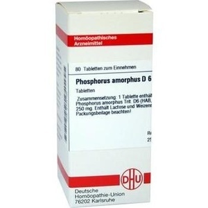 PHOSPHORUS AMORPHUS D 6 Tabletten