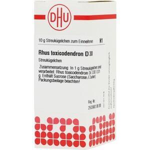 RHUS TOXICODENDRON D 30 Globuli