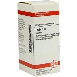 THUJA D 12 Tabletten