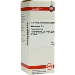ABROTANUM D 4 Dilution