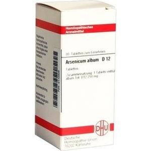 ARSENICUM ALBUM D 12 Tabletten