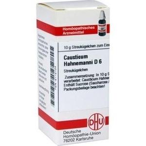 CAUSTICUM HAHNEM D 6