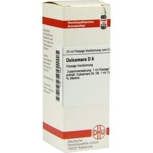DULCAMARA D 6 Dilution