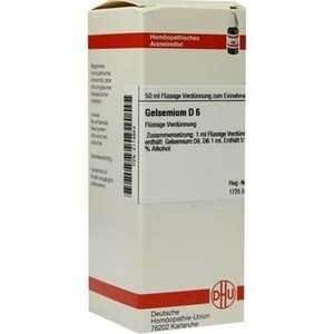 GELSEMIUM D 6 Dilution