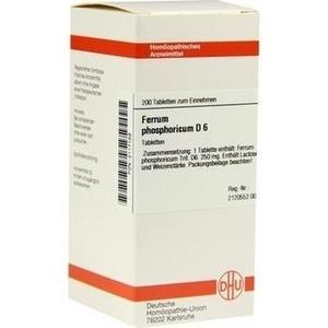 FERRUM PHOSPHORICUM D 6 Tabletten