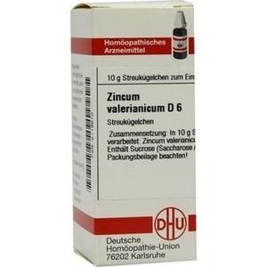ZINCUM VALERIANICUM D 6 Globuli