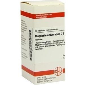 MAGNESIUM FLUORATUM D 6 Tabletten