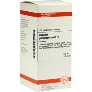 CALCIUM PHOSPHORICUM D 12 Tabletten