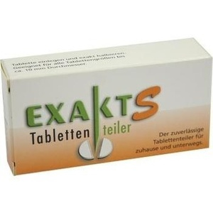 EXAKT S Tablettenteiler