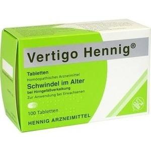 VERTIGO HENNIG Tabletten