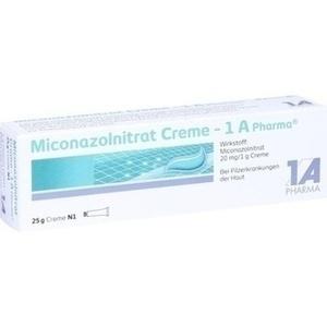 MICONAZOLNITRAT Creme-1A Pharma