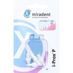 MIRADENT Ersatz Spitzbürsten I-Prox P weiß soft