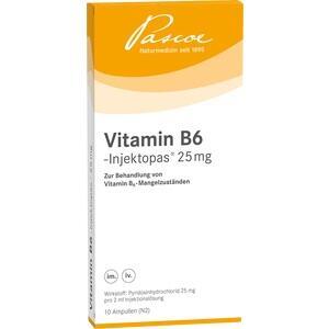 VITAMIN B6-INJEKTOPAS 25 mg Injektionslösung