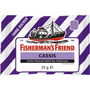 FISHERMANS FRIEND Cassis ohne Zucker Pastillen